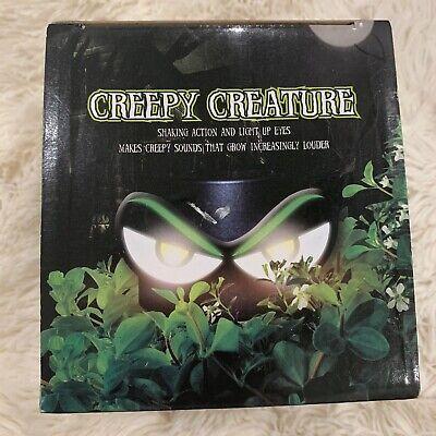 New CREEPY CREATURE Halloween Yard Decor Haunted House Shakes & Lights Up Eyes
