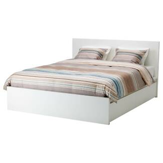 IKEA Queen Bed Frame and 4 Drawers