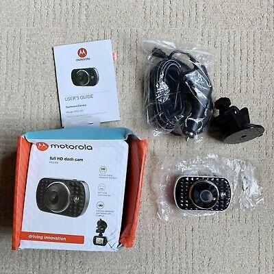 "Motorola MDC150 HD Dash Camera 2"" LCD Display Full HD Black Small"