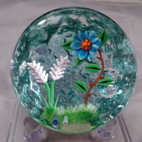 William Manson (Son) 1998 Floral Paperweight