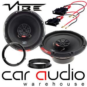 VW Polo 9N3 2005-09 MK4 Vibe SLICK 6 480 Watts 2 Way Front Door Car Speakers Kit