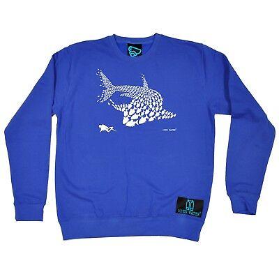Fish Shark Diver - jumper diver funny Birthday Gift JUMPER (Funny Shark)