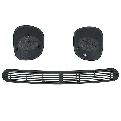 Dash Defrost Vent Cover Left Right Speaker Grille For 98-05 Jimmy Blazer Sonoma ()
