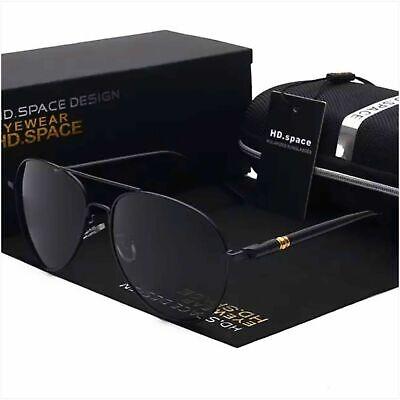 Sonnenbrille Herren Polarized UV400 Metallrahmen Pilotenbrille Fahren Angeln