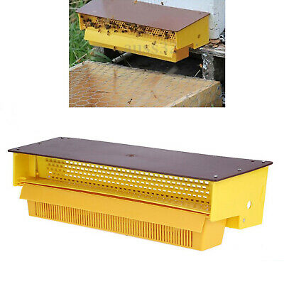 Plastic Pollen Trap Yellow Ventilated Pollen Tray Collector Easily Adjusted