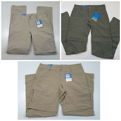 Columbia Women's Saturday Trail II Convertible Pants Multiple Colors/Sizes Trail Convertible Pants