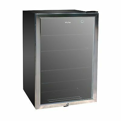 New Haier 150 Can Beverage Mini Fridge Refrigerator Glass Door Cooler