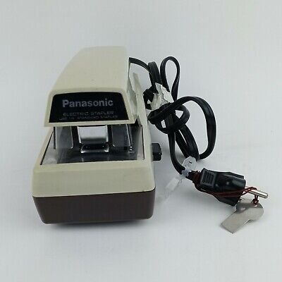 Vintage Panasonic As-300 Electric Stapler Industrial Business Use 14 Staples