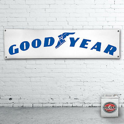 GOODYEAR  Banner  –  heavy duty for workshop, garage, man cave retro vintage
