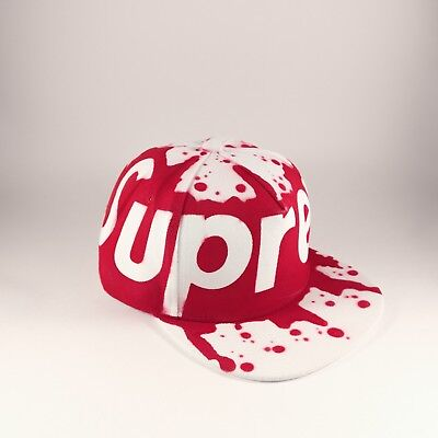 Supreme Snapback Hat Cap Graffiti Spraypaint New
