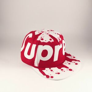 Supreme Snapback Hat Cap Graffiti Spraypaint New