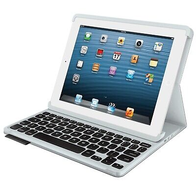 Logitech KB Folio Bluetooth Keyboard Case for iPad Tablet Y-R0044 with Stylus