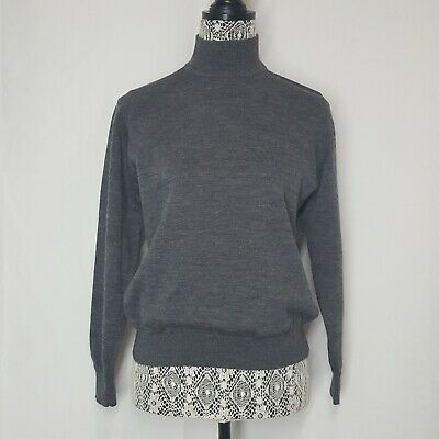 Charter Club Classics 100% Merino Wool Turtleneck Shirt Sweater  Size Medium wom