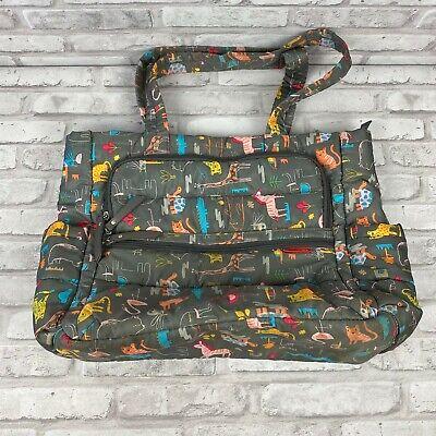 SKIP HOP Animal Print Diaper Bag Tote Bag