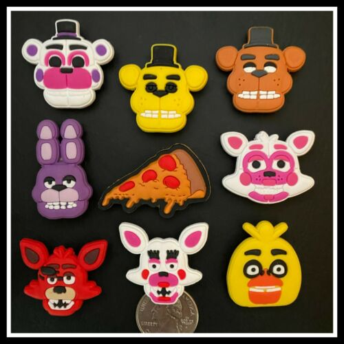 9 Shoe Charms for Crocs FIVE NIGHTS AT FREDDY