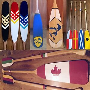 Custom  Hand Painted Canoe Paddle/Oar - Home Decor