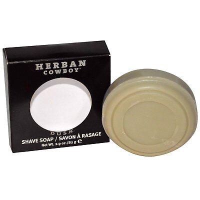 (Herban Cowboy Natural Grooming Shaving Soap Dusk - 2.9 Oz, Made in USA)