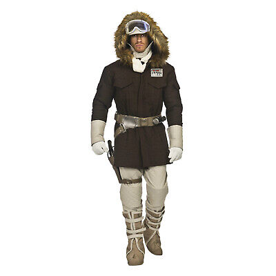 Deluxe STAR WARS Men's HOTH HAN SOLO Return of Jedi FULL Cosplay Costume - Han Solo Costumes