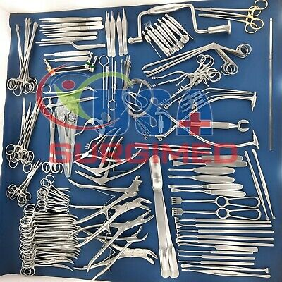 Neuro Surgery Instruments Set Of 133pcs German Stain Less Steel Grade A