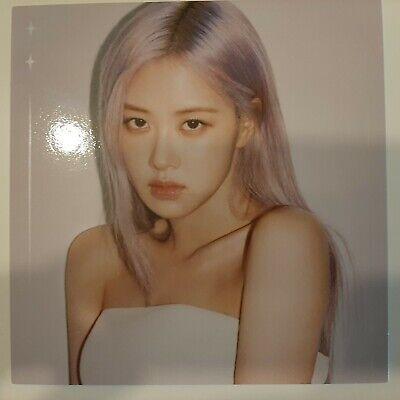 Blackpink The Album Official Square Photo-ROSE