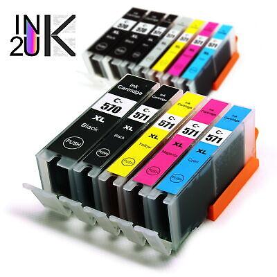 Lot Ink Compatible for Canon MG5750 MG5751 MG6851 MG7750 TS5050 PGI570 CLI571 XL