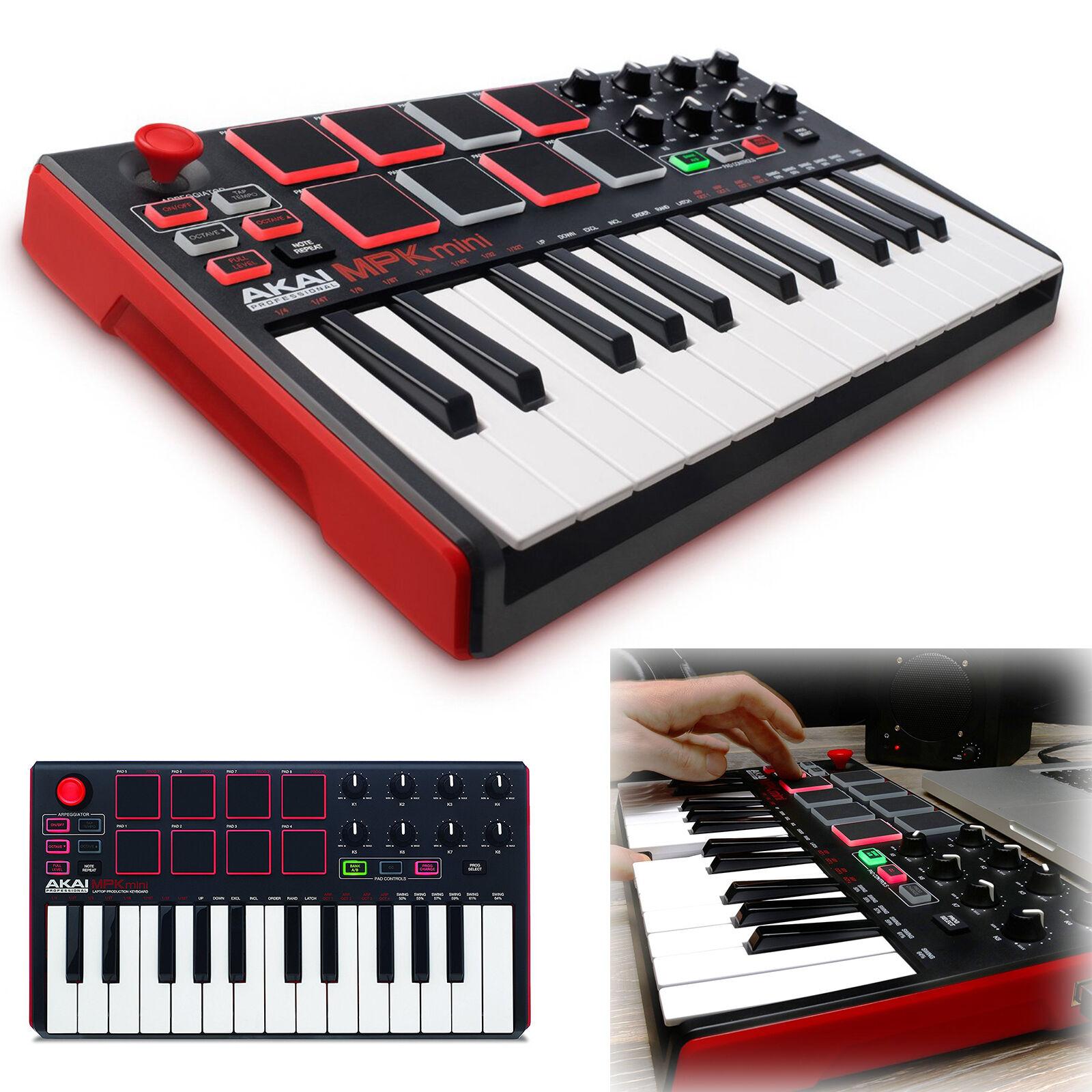 MIDI Controller Keyboard 25 Key USB Professional Piano Music