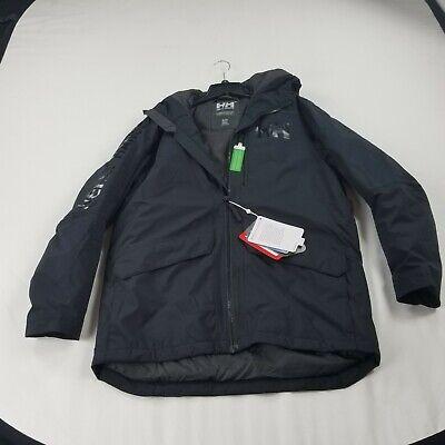 Helly Hansen Jacket Small Mens   black  parka