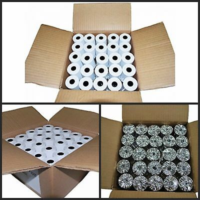 Thermal Roll Paper Cash Register Receipt 50 Rolls Credit Card Thermal Reciept