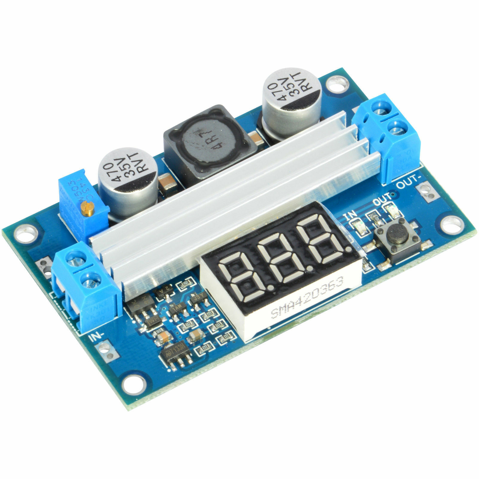 Jacobsparts Fp5139 100w Dc Boost Step Up Voltage Converter Module Automatic Regulator With Protection Circuit Free Electronic Stock Photo