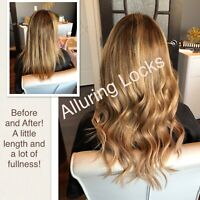 PROFESSIONAL, AFFORDABLE, HIGH QUALITY HAIR EXTENSIONS!!