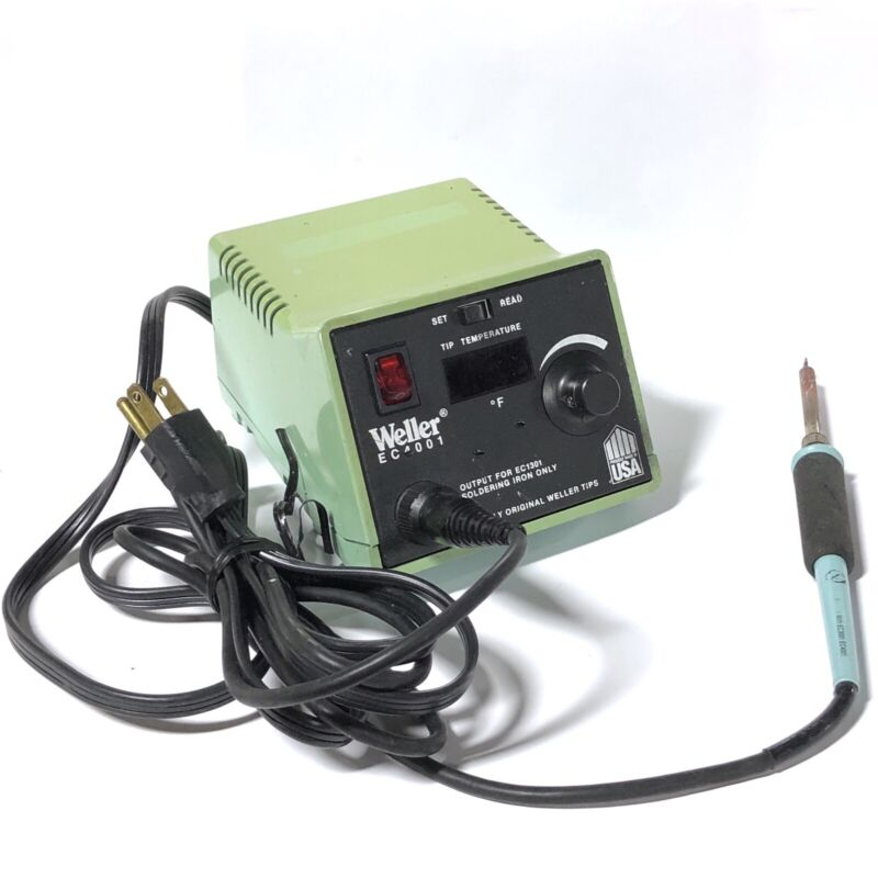 ^ WELLER EC4002C Tested Soldering Iron Power Unit