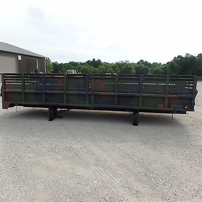 5 TON 20 FT FOOT CARGO BED  TROOP SEATS M927 M928 M923