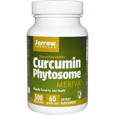 500 Mg Vegetarische Caps (Curcumin Phytosome 500 mg (60 Veggie Caps) - Jarrow Formulas)