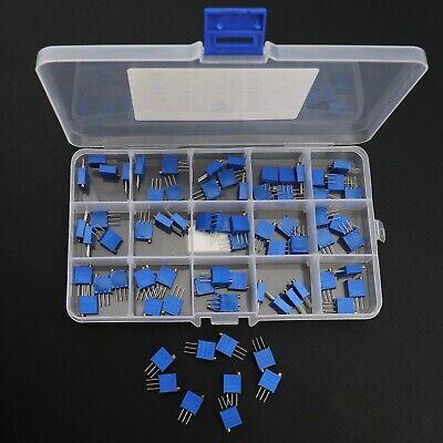 75 Stücke Trimmer Variable Widerstand Trimmer Widerstände 50R-2M Ohm 500-205
