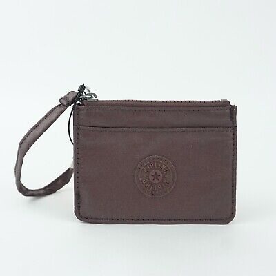 KIPLING CINDY Card Case Popping Purple Metallic