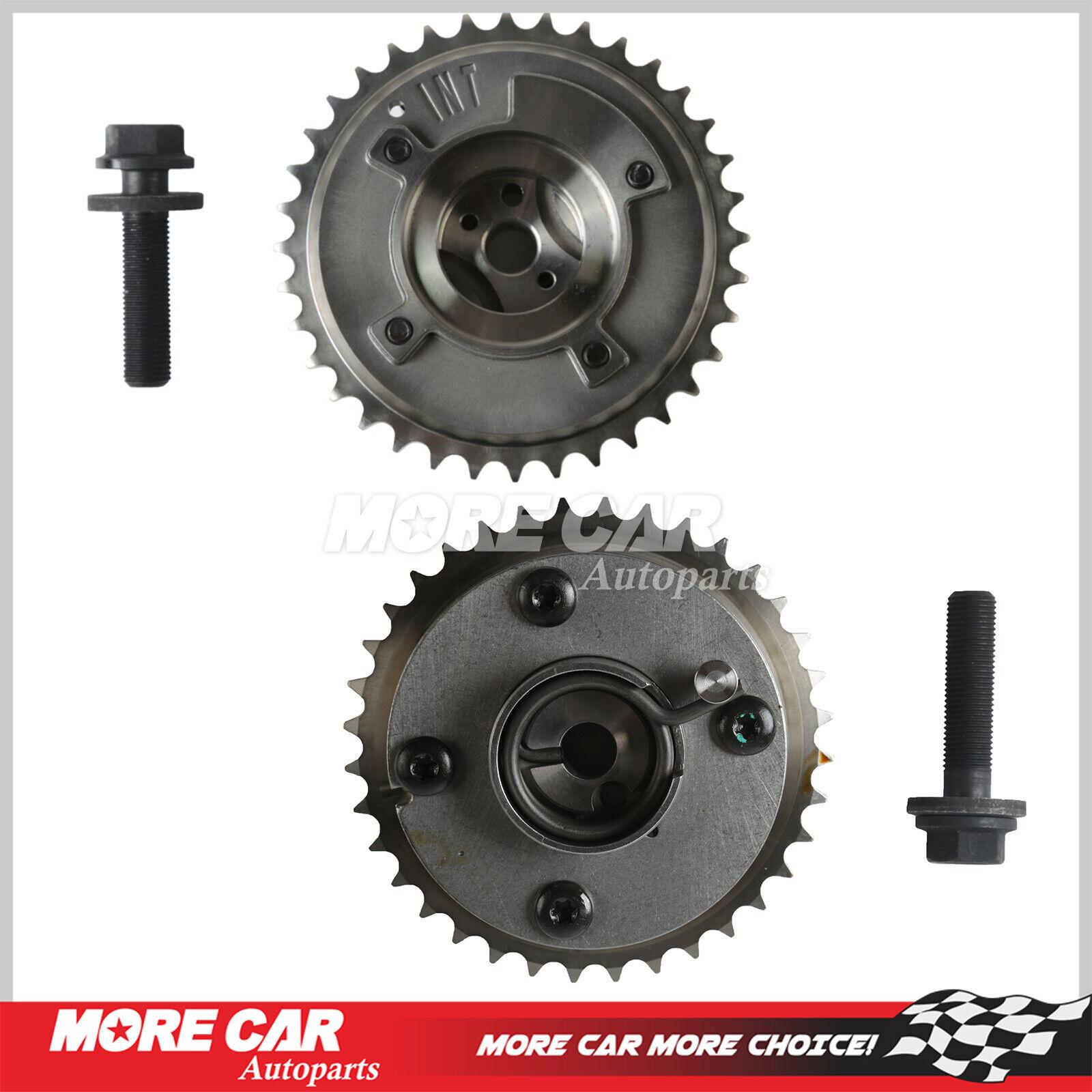 MOCA VVT Actuator Cam Phaser Sprockets Intake /& Exhaust for 2009-2014 Toyota Camry RAV4 Highlander /& 2013 Lexus ES300H 2.5L 2.7L L4