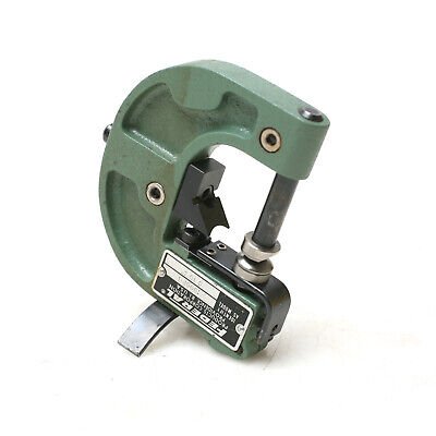 Federal I000p-1 0-1 Range Snap Gage With Movable Anvil 38 Dial Mount