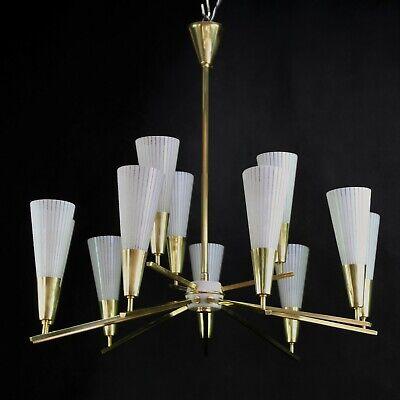 lampada lampadario lume a piatto vetro bianco bordo verde