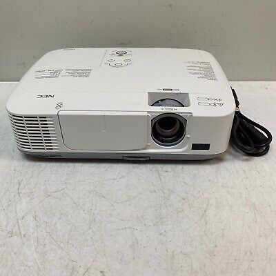 NEC NP-M311W HDMI M311W USB Network LCD Projector 3600 Lamp Hours