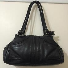 MIMCO black genuine leather bag Petersham Marrickville Area Preview