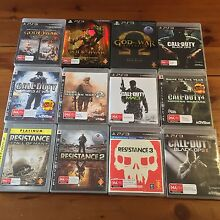 PS3 Games Bundle (19x) Lesmurdie Kalamunda Area Preview