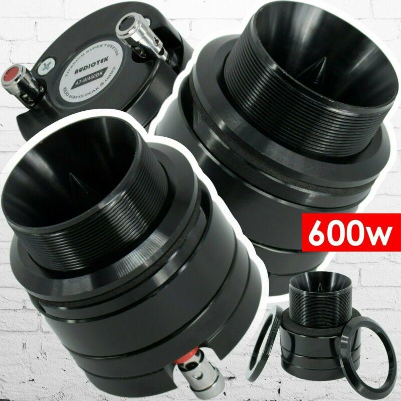 """New Audiotek ATW460BK 1"""" 600W Car Pro Audio Heavy Duty Titanium Super Tweeter"""