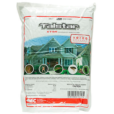 Granular Insecticide - Talstar Xtra Granular Insecticide with Verge 25 lbs FMC  - #8A.12