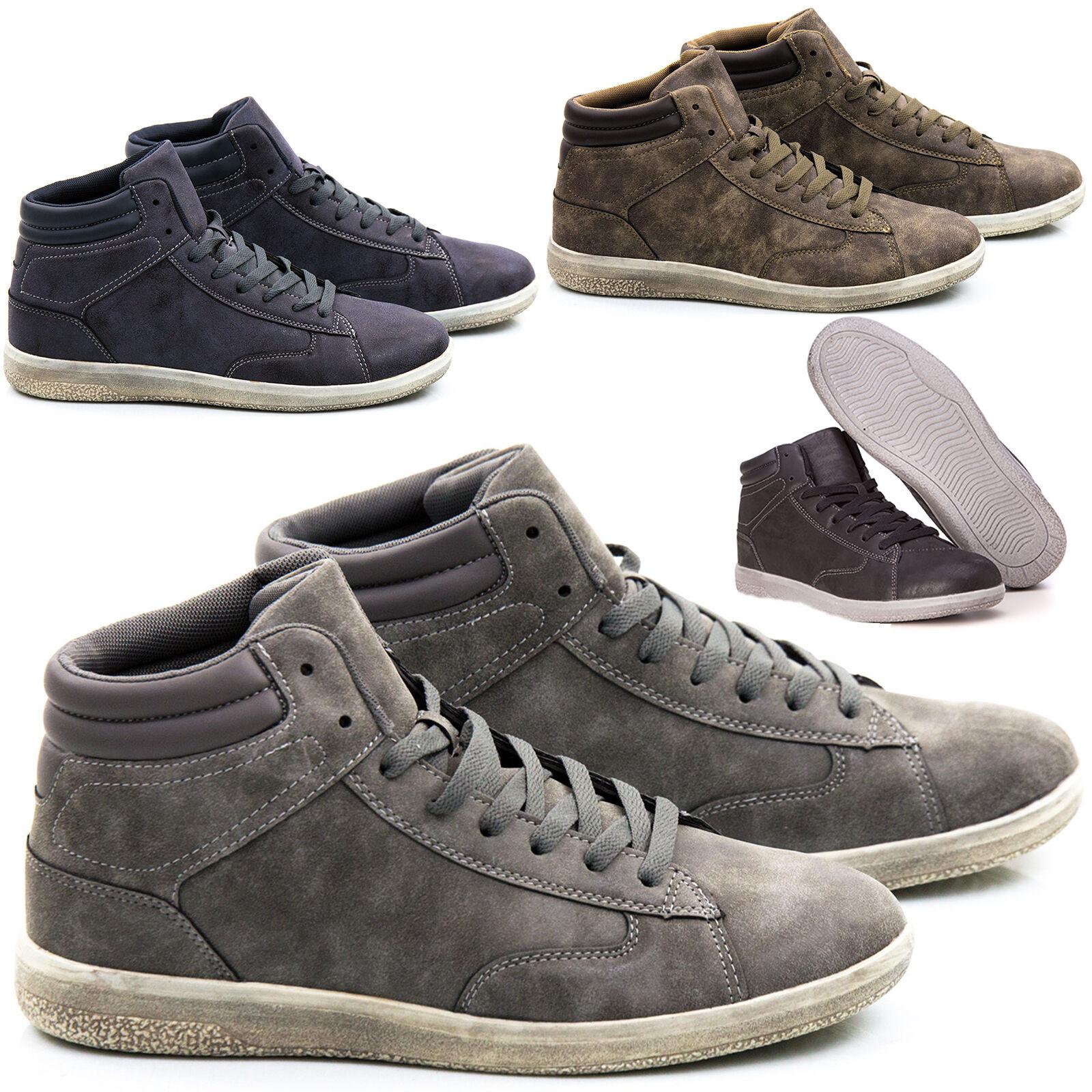 Scarpe Uomo Sneakers Pelle PU Stivali Francesine Mocassini Ginnastica Anfibi S88