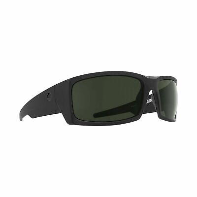 Spy Optic GENERAL SOSI Matte Black ANSI HD+ Gray Green Sunglasses (General Optical)