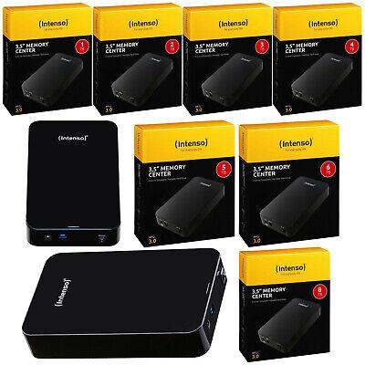 Intenso Memory Center 1 - 8 TB Externe Festplatte USB 3.0 HDD 3,5 Zoll Hard Disk (8tb Externe Usb-festplatte)