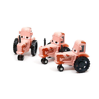 Disney Toy Cars Halloween (3-Pack Mattel Disney Pixar Cars 3 Tractor 1:55 Metal Diecast Toy Car Loose)