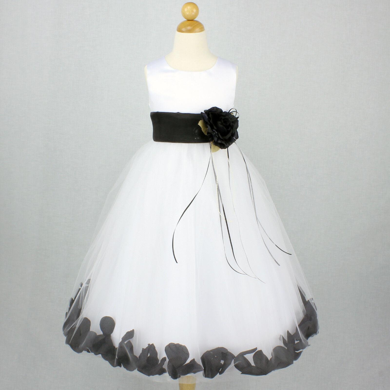 Black and white flower girl dress, nude fake pakistani girls