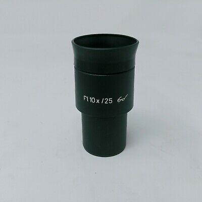 Zeiss Microscope Eyepiece Pl 10x25 With Eyecup 443033