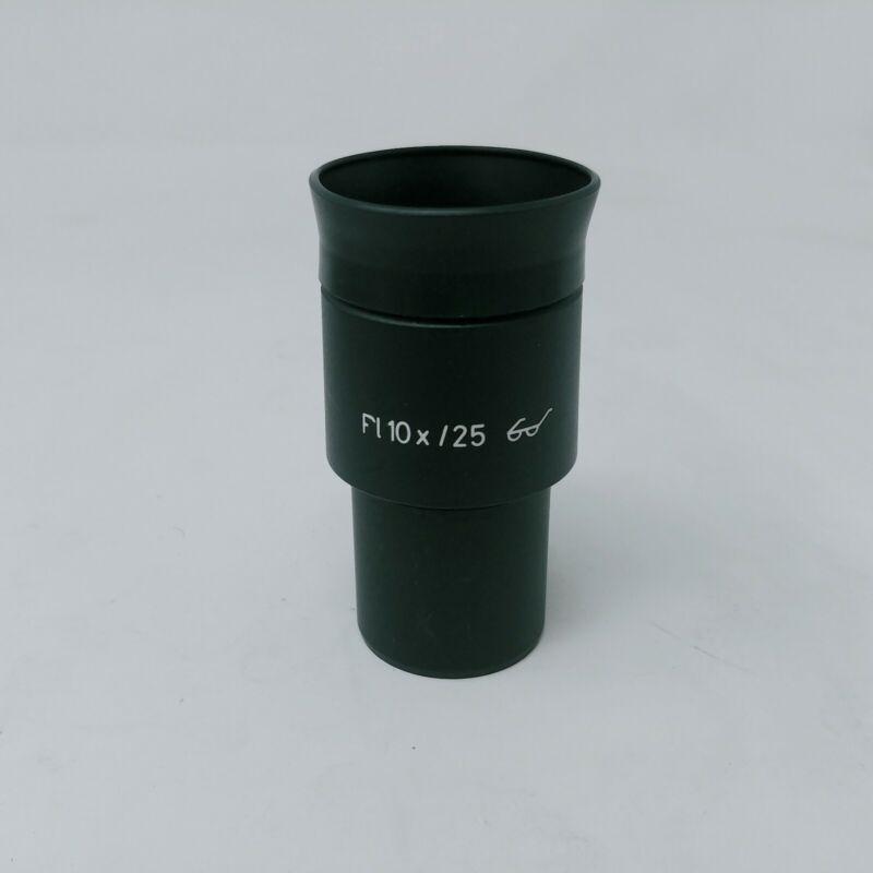 Zeiss Microscope Eyepiece Pl 10x/25 with Eyecup 443033